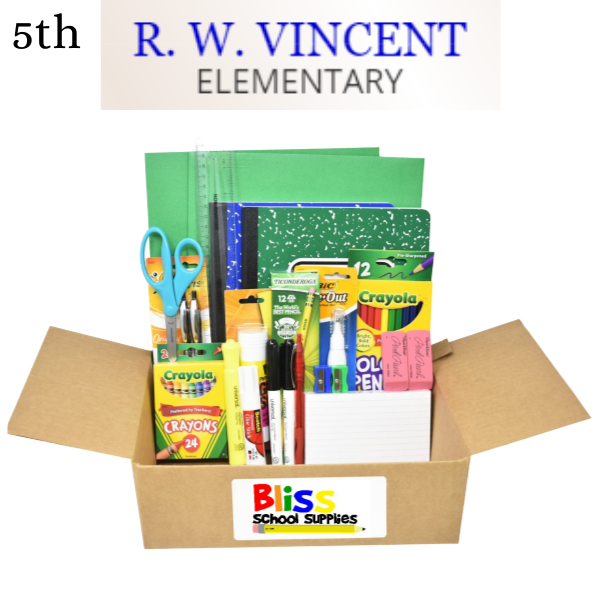 R. W. Vincent Elementary - Fifth Grade