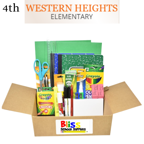 Western Heights Elementary - Fourth Grade
