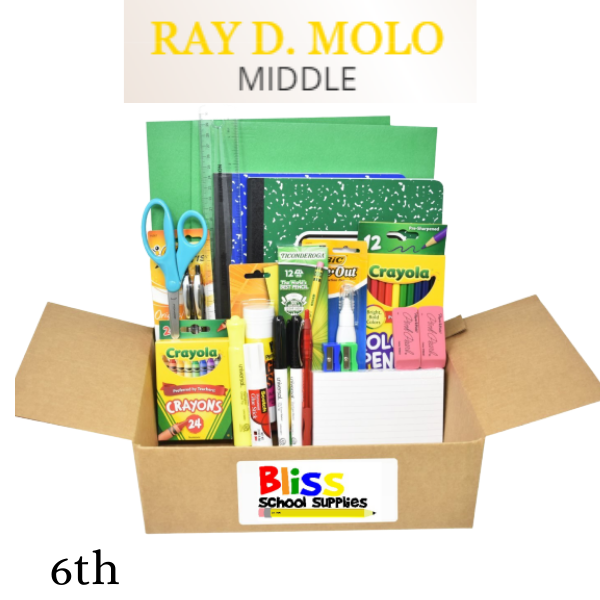 Ray D. Molo Middle - Sixth Grade
