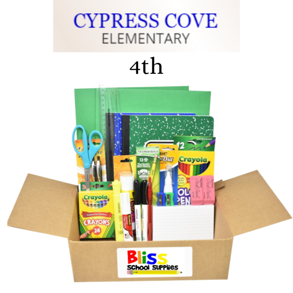 Cypress Cove Elementary - Fourth Grade
