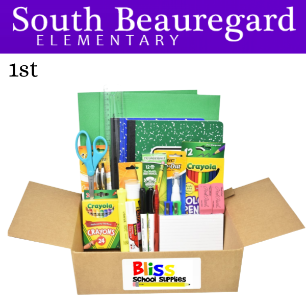 South Beauregard Elementary - First Grade
