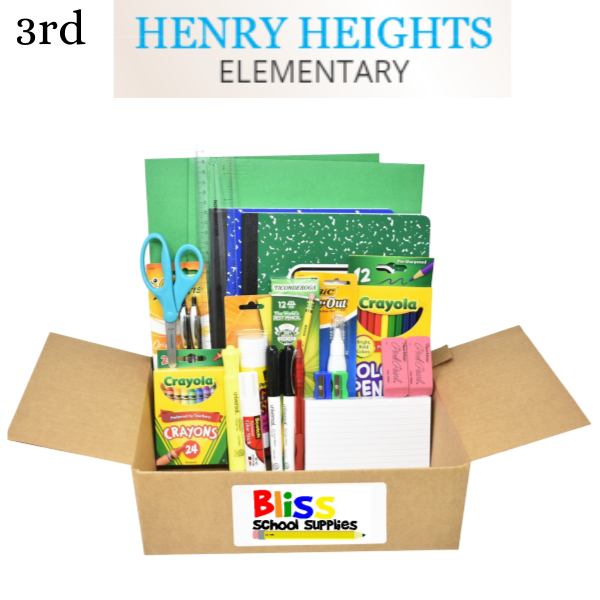 Henry Heights Elementary - Third Grade