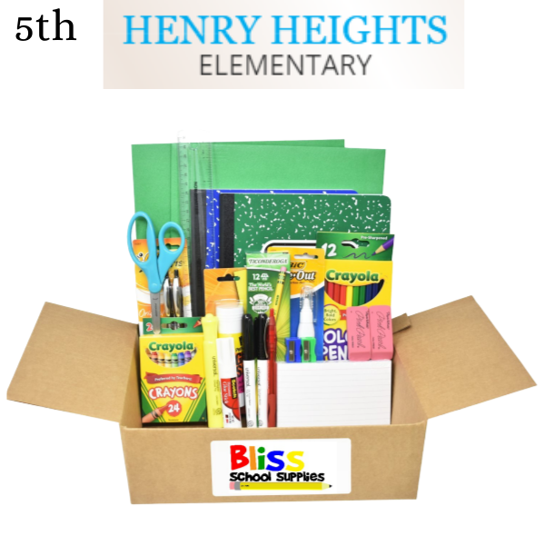 Henry Heights Elementary - Fifth Grade