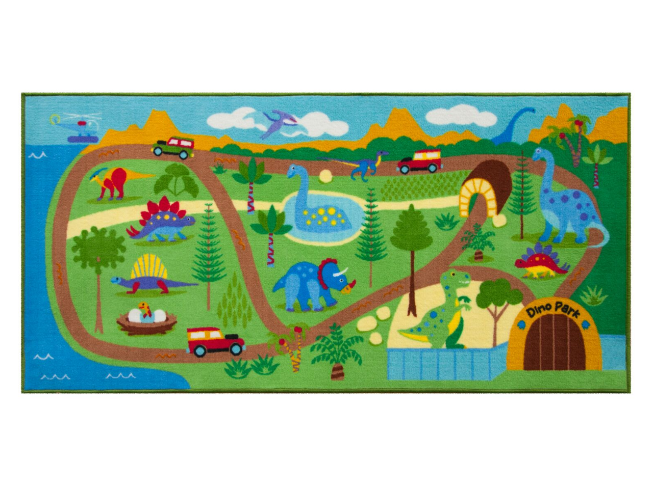 Dinosaur Land - Play Rug