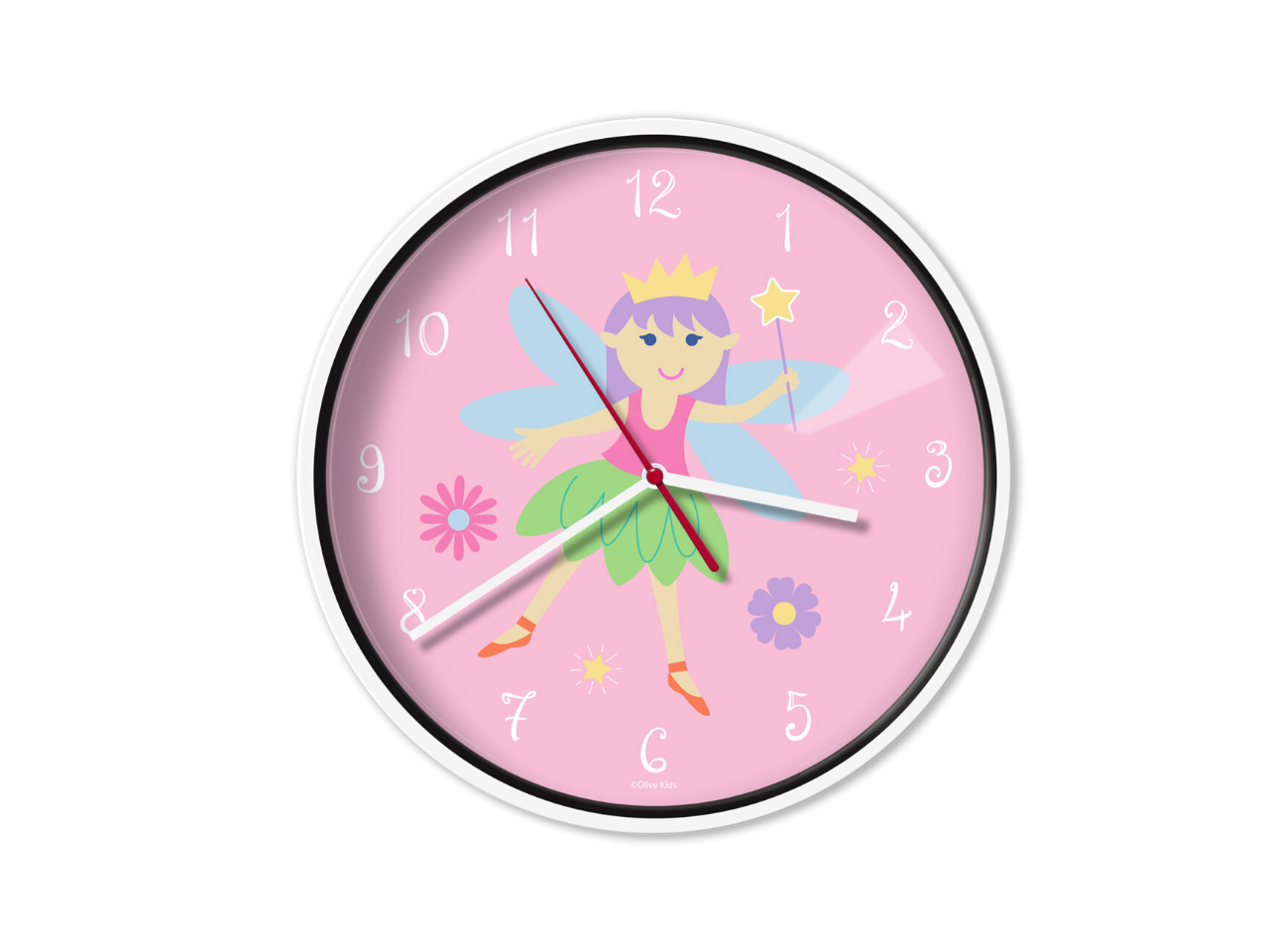 Wall Clock - Fairy Princess