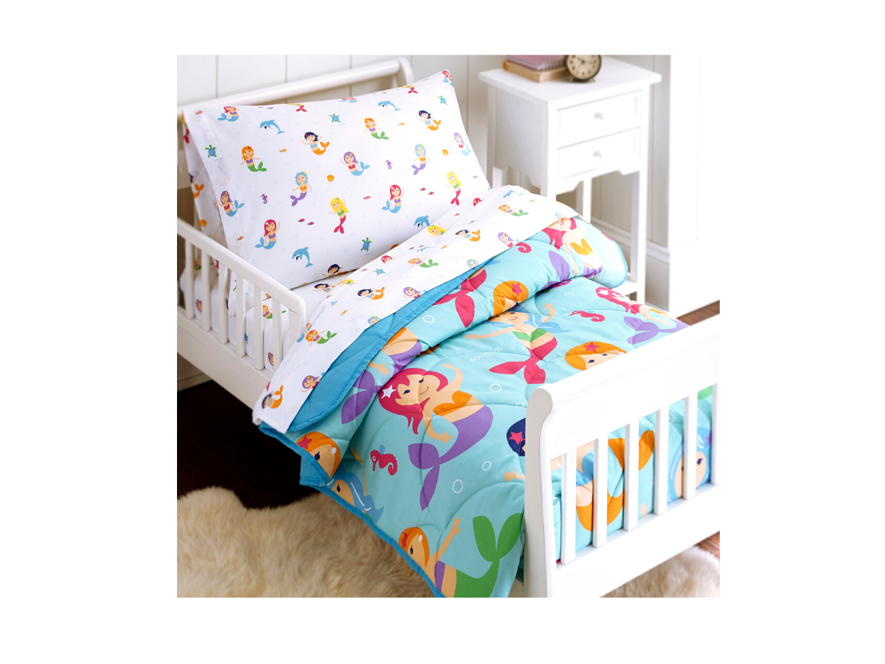 4 Piece Toddler Set - Mermaids