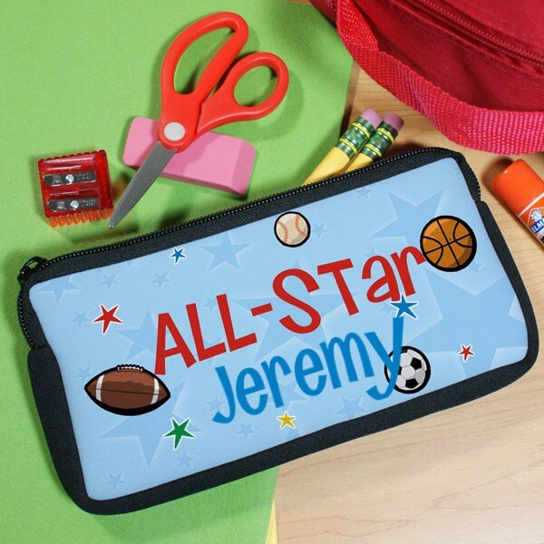 Bliss EDU Personalized I'm an All Star Pencil Case