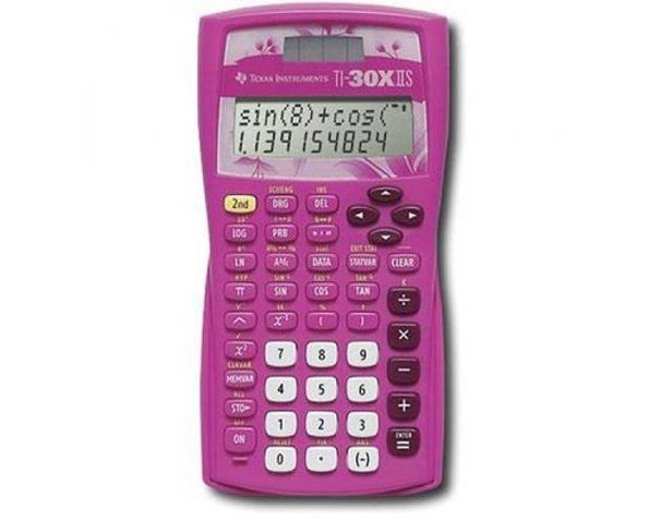 Texas Instruments TI-30XIIS 10-Digit Scientific Calculator, Pink