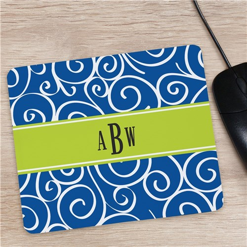 Graduate Monogram Madness Mouse Pad