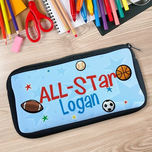 Personalized I'm an All Star Pencil Case
