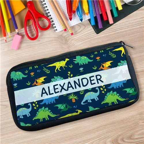 Personalized Dinosaur Herd Pencil Case