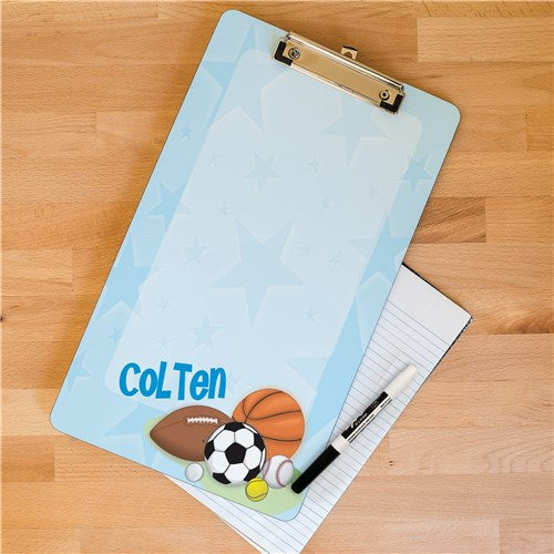 Personalized Sports Fan Clipboard