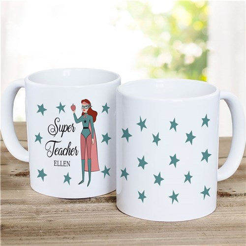 Personalized Super Teacher Mug