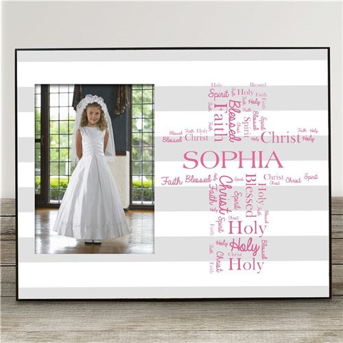 Personalized First Holy Communion Picture Frame