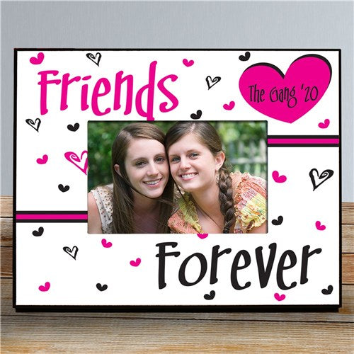 Friends Forever Personalized Printed Frame