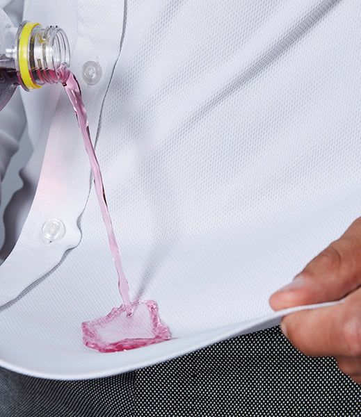 Fiber Secret Lotushirt can repel and resist wetting from the external threads to ensure fast drying performance.