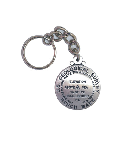 Challenger Point Key Chain