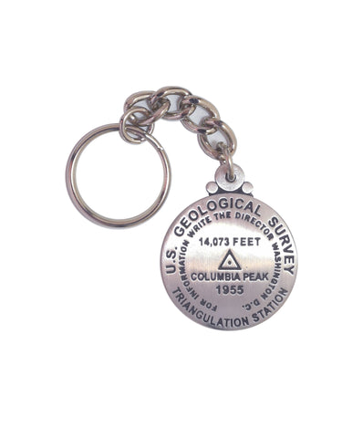 Columbia Peak Key Chain