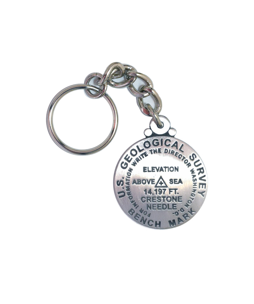 Crestone Needle Key Chain
