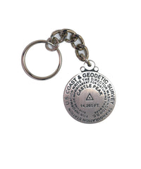 Castle Peak Key Chain