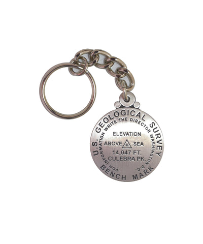 Culebra Peak Key Chain