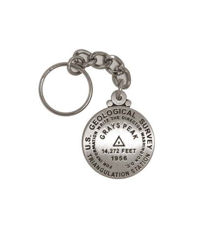 Grays Peak Key Chain
