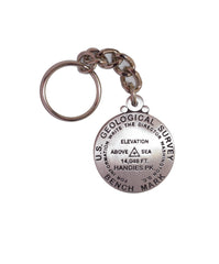 Handies Peak Key Chain