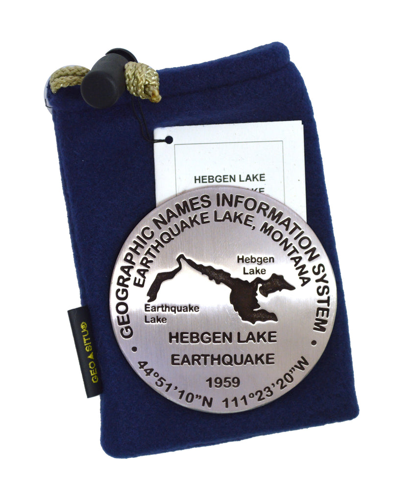 Hebgen Lake Earthquake Paperweight