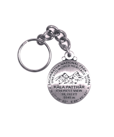 Kala Patthar UNESCO Heritage Site Key Chain