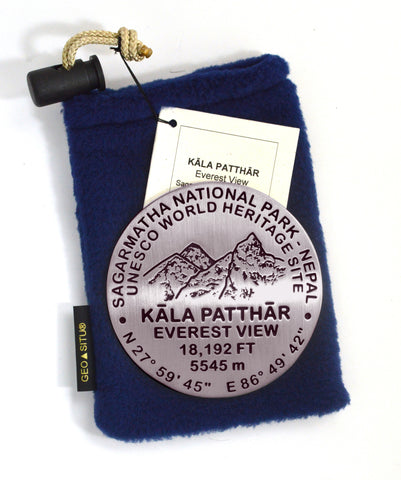 Kala Patthar UNESCO Heritage Site Paperweight