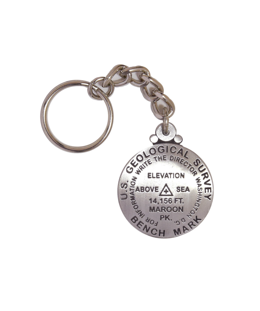 Maroon Peak Key Chain