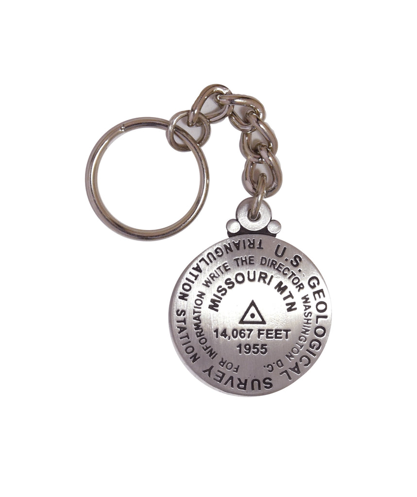 Missouri Mountain Key Chain