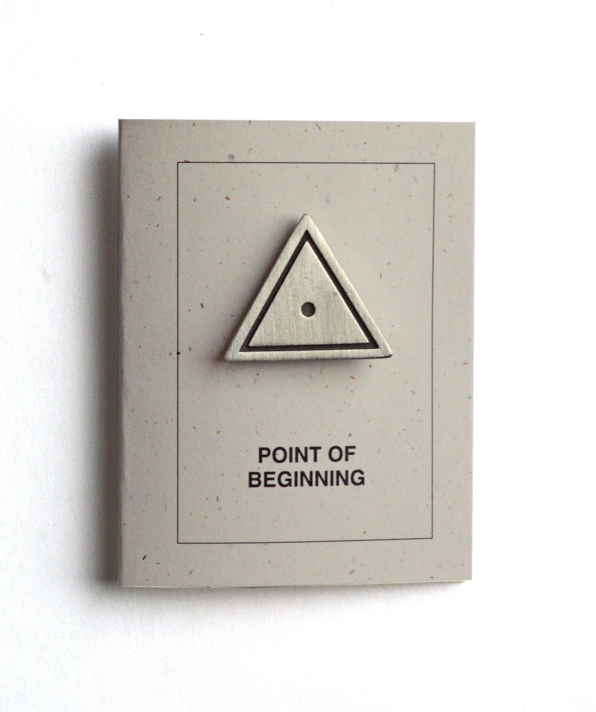 Point of Beginning Pin