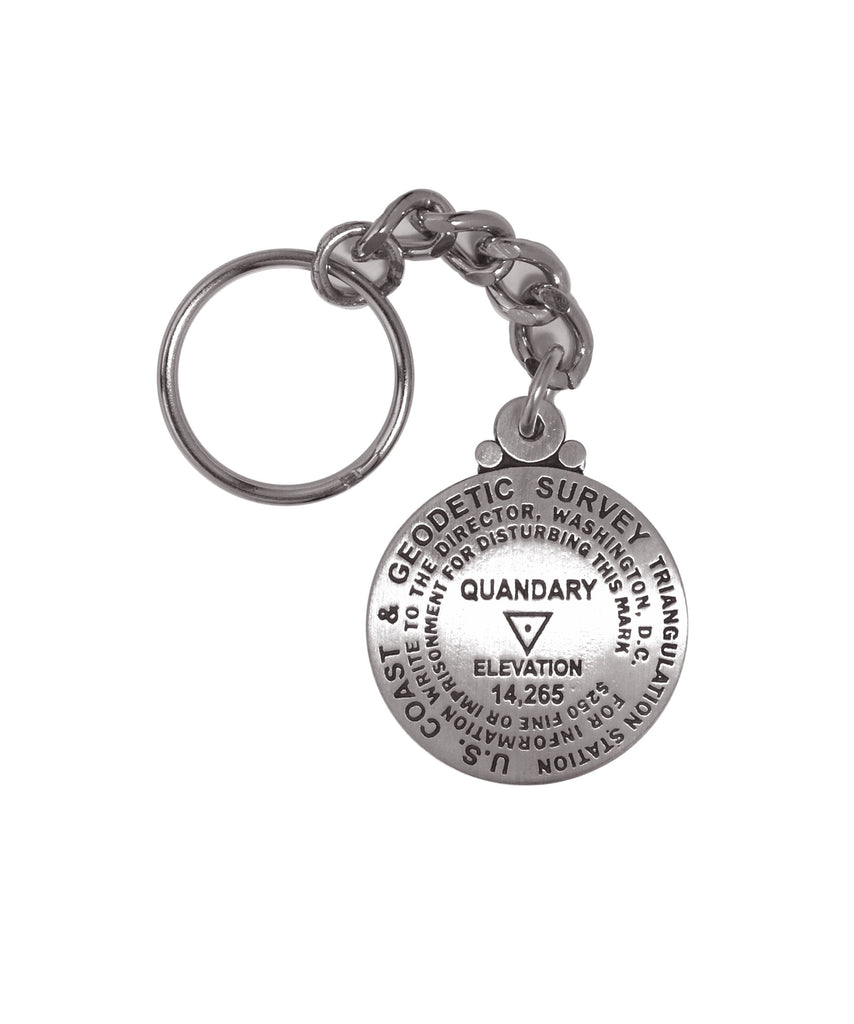Quandary Peak Key Chain