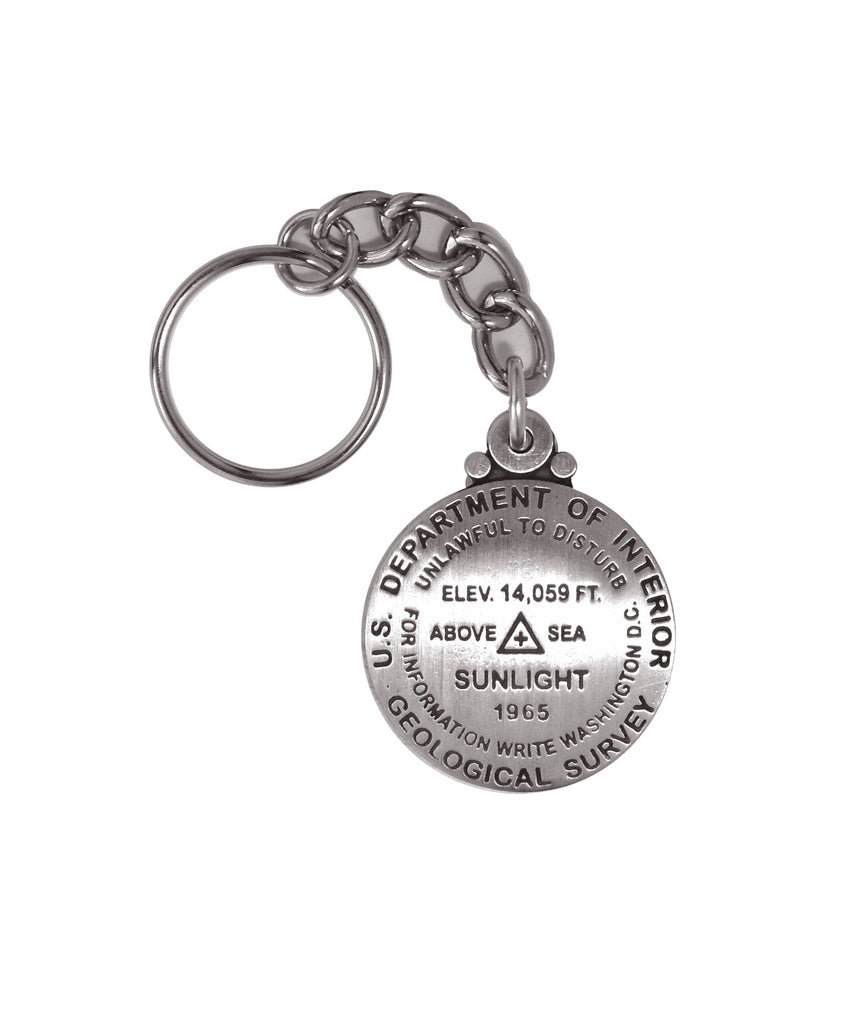 Sunlight Peak Key Chain