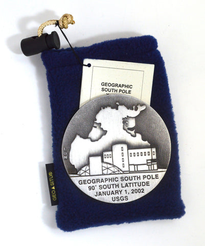 South Pole 2002 Paperweight