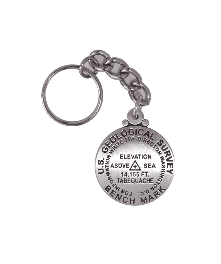 Tabequache Peak Key Chain