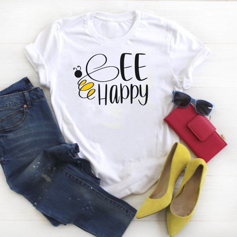 Trishia T-shirt Bee Happy