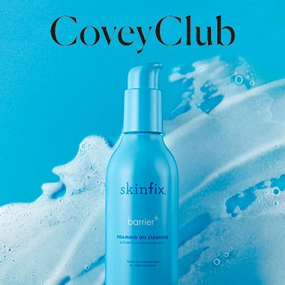 Covey Club Skinfix Barrier+ Foaming Oil Cleanser Press Feature