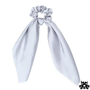 Ruban attache cheveux blanc