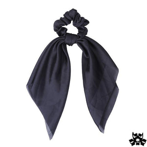 Ruban attache cheveux noir