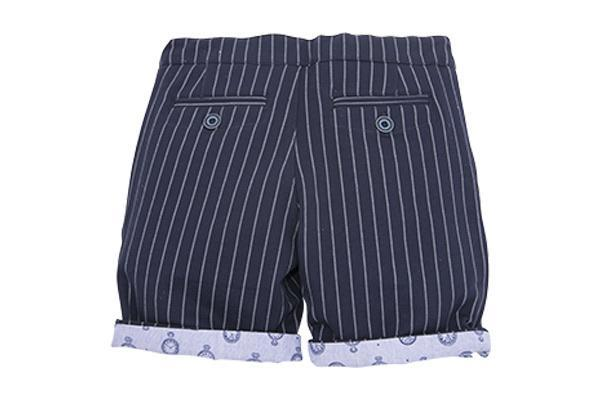 SAMUEL: STRIPE SHORTS