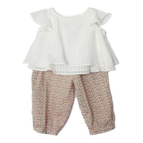 Mabel+Honey: Natural Breeze 2 PC Short Set