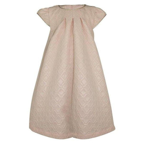 Sophie: Blush Brocade Dress