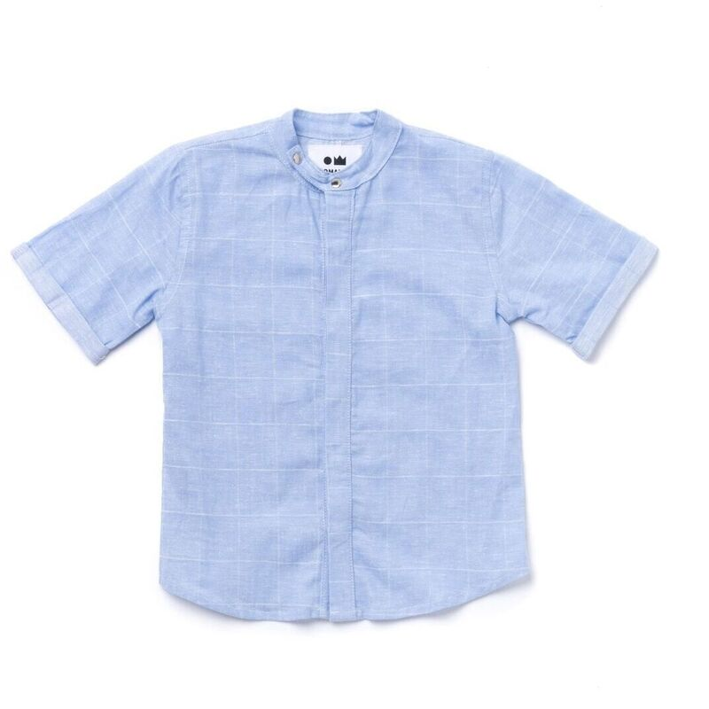 Chambray Buttoned Down Shirt