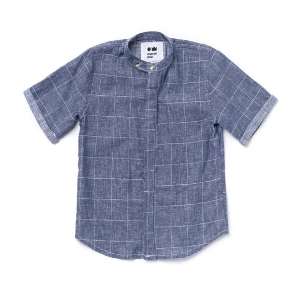 Chambray Buttoned Shirt OM366