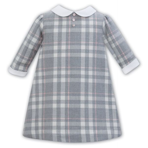Sarah Louise Checked Dress