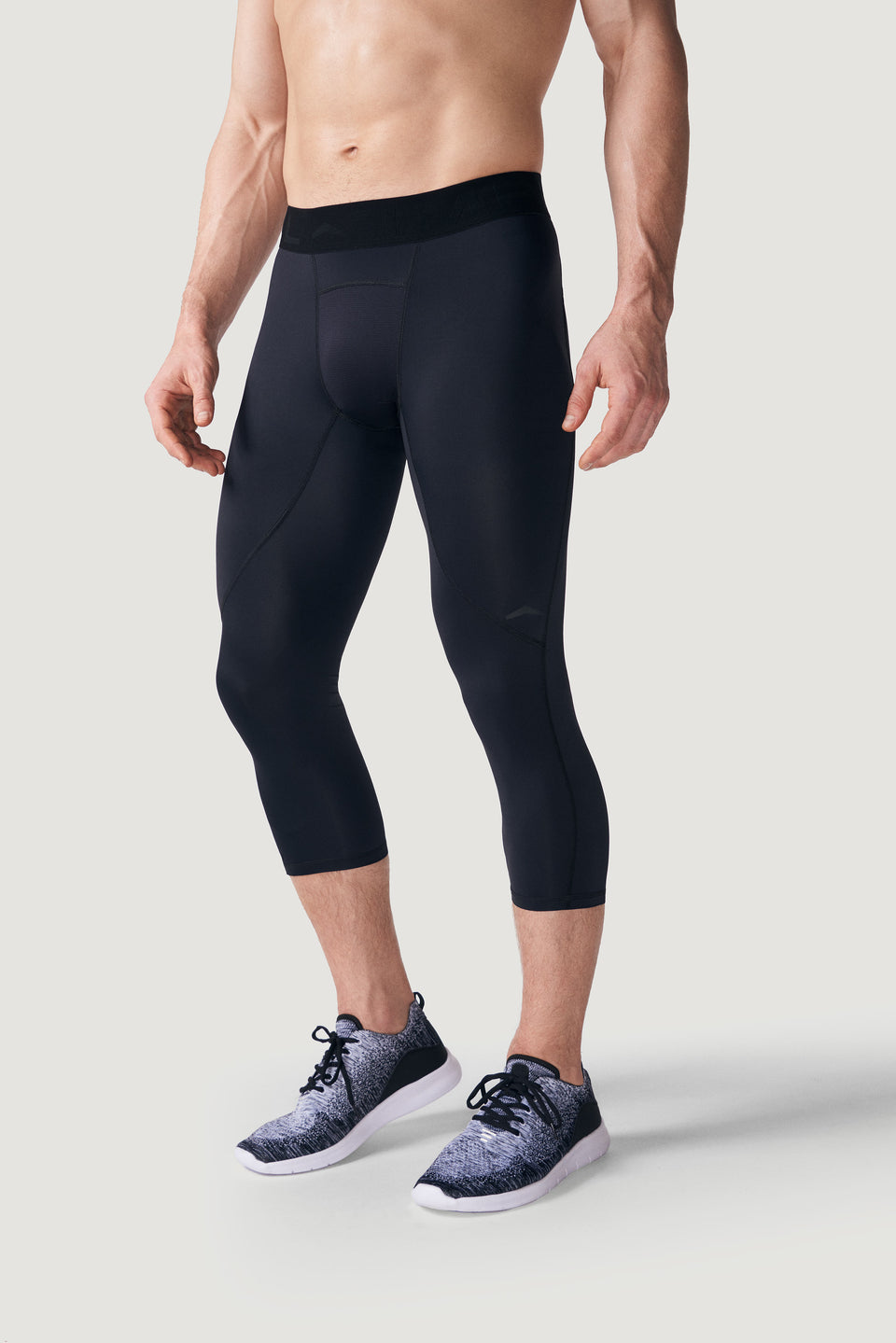 TMPL Sportswear Men's Alpha DRIVE 3/4 Compression Pant