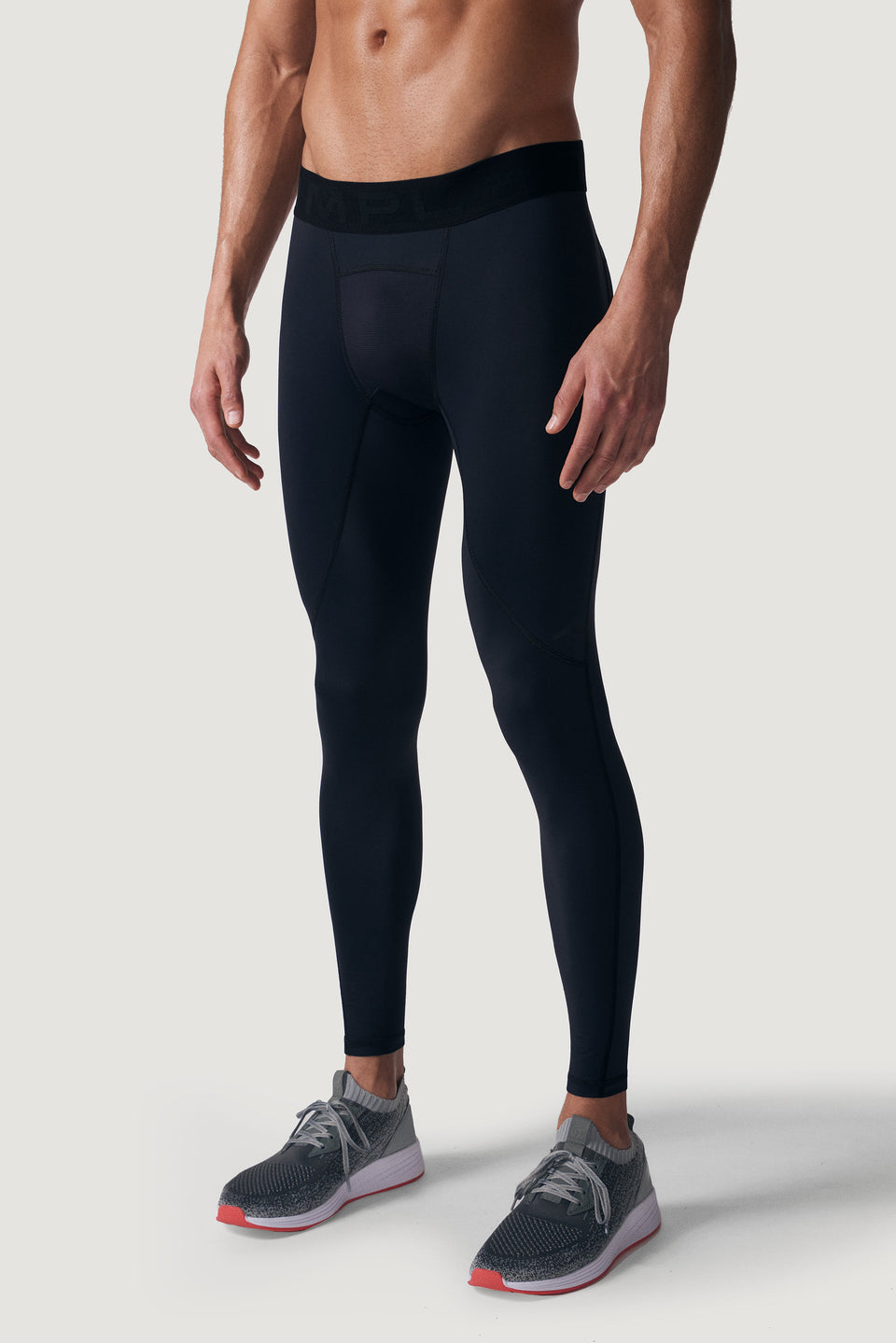 TMPL Sportswear Men's Alpha DRIVE Full Compression Pant