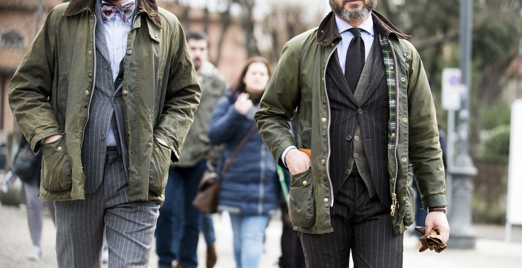 How To Wear A Barbour Jacket